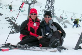 Skieen in Mordor