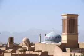 Yazd, oude stad in de woestijn