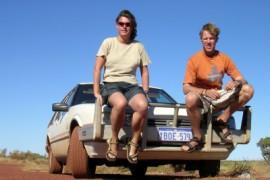 Kilometers maken in Western Australia