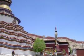 De overland naar Nepal - van Nagartse naar Gyantse
