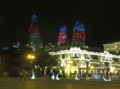 Baku - Flame Towers by night