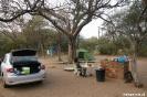 Khama Rhino Sanctuary - Onze campsite