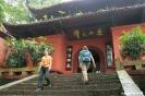 Leshan - richting<br />Giant Buddha