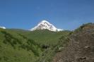 Kazbegi - De witte<br />top van Mt. Kazbek