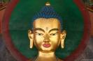 Manali, boeddha in Gelukpa Gompa.