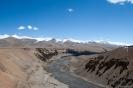 Manali naar Leh, geweldige uitzichten.
