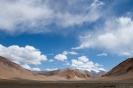 Manali naar Leh, ruimte op de vlakte van Moray.