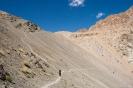 Sham trekking, het lange pad naar boven.