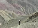 Sham trekking, in een machtig landschap.