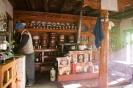 Sham trekking, keuken in guesthouse Padma, Yangtang.