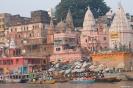 Varanasi, drukte bij de ghats