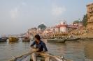 Varanasi, vanaf de Ganges