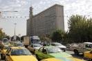 Teheran - Drukte  op straat