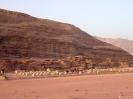 Wadi Rum - Kampje in de woestijn