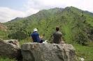 Almaty - In de bergen achter Medeu