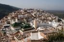 Moulay Idriss - Uitzicht over het dorpje