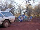 WA -  campsite in Karijini National Park