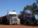 WA - Pardoo roadhouse, roadtrains
