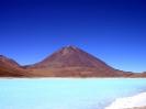 Laguna verde en Volcan Licancabur