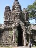 Ankor Wat - Poort baar een tempe;