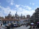 Quenca - Plaza met kathedraal