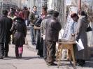 Mongolië - Bellen op straat