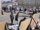 Mongolië - Boekenmarkt op straat
