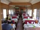 Mongolië - De luxe restauratiewagen van de Chinese trein