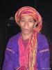 Kalaw - Vrouw in longhouse bij de Palaung