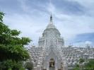 Mandalay - De witte tempel bij Mandalay