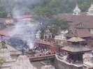 Kathmandu - Lijkverbrandingen aan de Bagmati