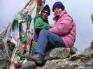 Langtang trekking - Op het hoogste punt van de trek