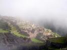 Machu Picchu - Nog in de wolken