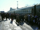 Rusland - drukte bij een stop onderweg