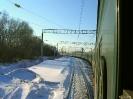 Rusland - lange trein