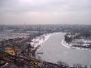 Rusland - uitzicht over Moskou
