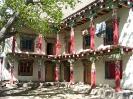 Zhongdian naar Lhasa - Tibetaans huis