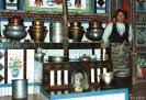 Zhongdian naar Lhasa - Trotse vrouw in haar keuken