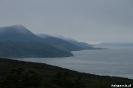 Ushuaia - Donkere wolken boven het Beagle kanaal