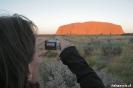 Uluru - veel gefotografeerd ...