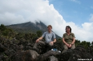 Volcan Arenal - jut en jul