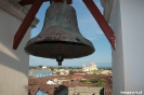 Granada - Doorkijkje op de klokketoren