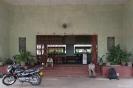 Negombo, wachten op het station