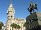 Montevideo - Op het plaza Independencia